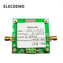 Bant geçiren filtre modülü 8th sipariş filtre merkezi frekansı 31KHz bant genişliği 60KHz Stopband bastırma