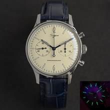 Relógio de pulso masculino relógio masculino seagull st1901 homem esportes relógio mecânico masculino relógios de pulso cronógrafo do vintage luminoso