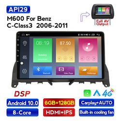 MEKEDE 4G LTE Android 10 4G Car Radio Multimedia Video Player Navigation GPS For Mercedes Benz C Class 3 W204 S204 2006 - 2011