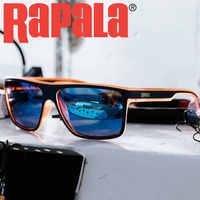 Gafas de sol polarizadas RAPALA 100% para pesca, protección contra rayos UV, luz de gran claridad azul, Visión de pesca, ciclismo, senderismo