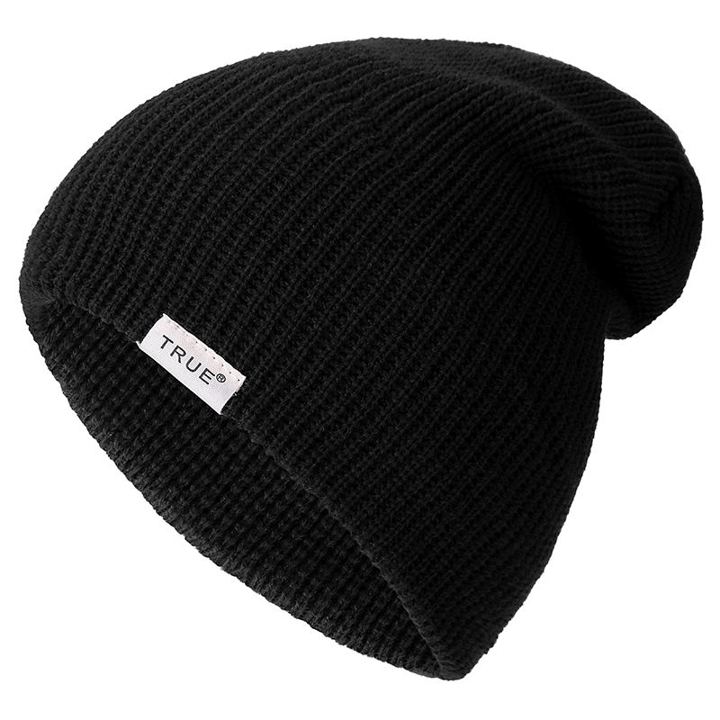 New 11 Colors Letter True Casual Beanies for Men Women Girl Boy Fashion Knitted Winter Hat Solid Hip-hop Skullies Hat Unisex Cap 1