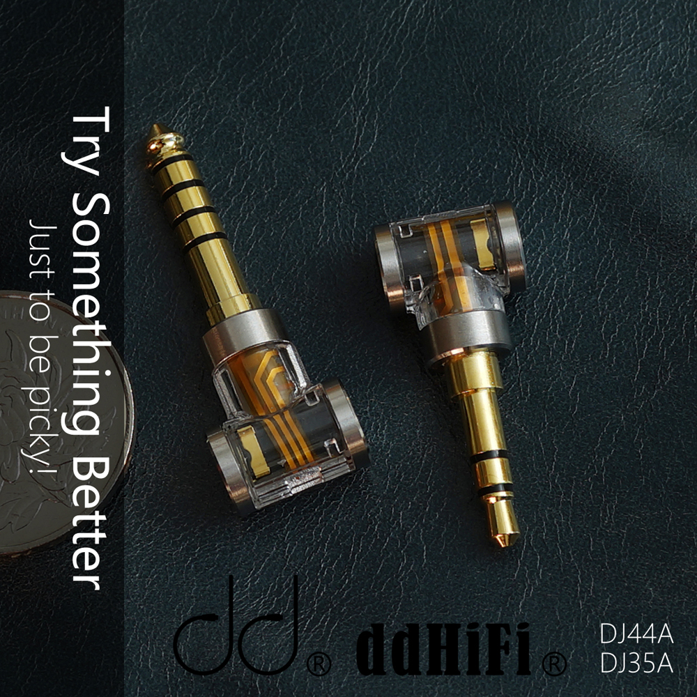 cheapest DD DJ35A DJ44A 2 5mm 4 4 Balanced adapter  Apply to 2 5mm balance earphone cable from brands such as Astell amp Kern FiiO etc
