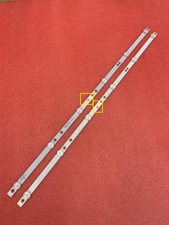 2 pces led backlight strip para 32phs4062 panasonic TX-32FR250K 2t-c32acsa k320wdx a1 a2 a b tipo 4708-k320wd-a2113n01 a1113n11