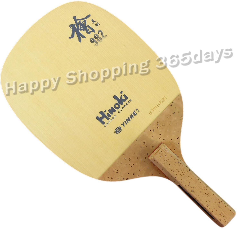Yinhe Milky Way  Galaxy 982 Hinoki Japanese Penhold Table Tennis Pingpong Blade