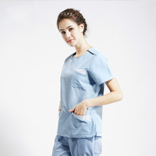 Operating Room Short Sleeve Washing Handwear Separate Set Working Clothes S8049