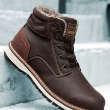 Man Boots Comfortable Warm Winter DEKABR Protective New And Wear-Resistant-Sole Big-Size