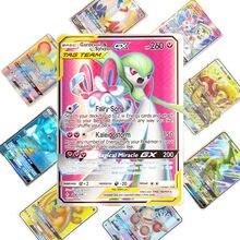 Meilleure vente de cartes Pokemones, jeu de cartes de combat 25 50 100 pièces, jeu de cartes de commerce, jouets pour enfants, nouvelle collection
