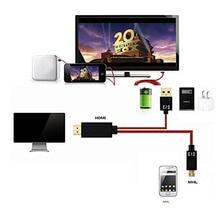 Câble Micro USB vers HDMI 1080P 11 broches avec sortie Audio vidéo pour Samsung Galaxy S3 S4 S5 Edge Note 3