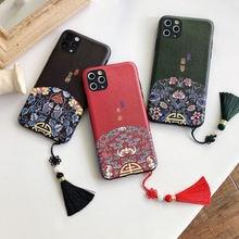 Модный чехол в китайском стиле для iphone 11 pro xs max xr x