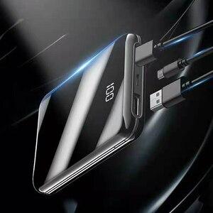 Image 5 - Plein écran mini batterie externe 30000mah PowerBank batterie externe USB Portable téléphone chargeur de batterie pour IPhone appauvrbank