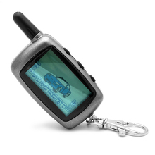A6 2-way LCD Remote Controller Key Fob for Russian Version Vehicle Security Two