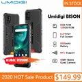 Оригинальный UMIDIGI BISON 6 ГБ + 128 Гб NFC IP68/IP69K водонепроницаемый прочный телефон 48MP Quad Camera 6,3 дюйма FHD + Дисплей Android 10