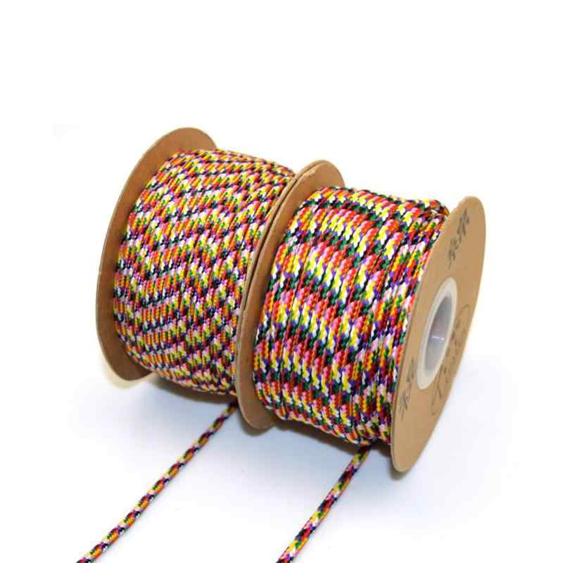 Beads Beading Line Color 3mm String Cord Rope NF-D Line Tibet Tibetan Buddhist Mikky Amulet Pendant Jewelry Making DIY Crafts