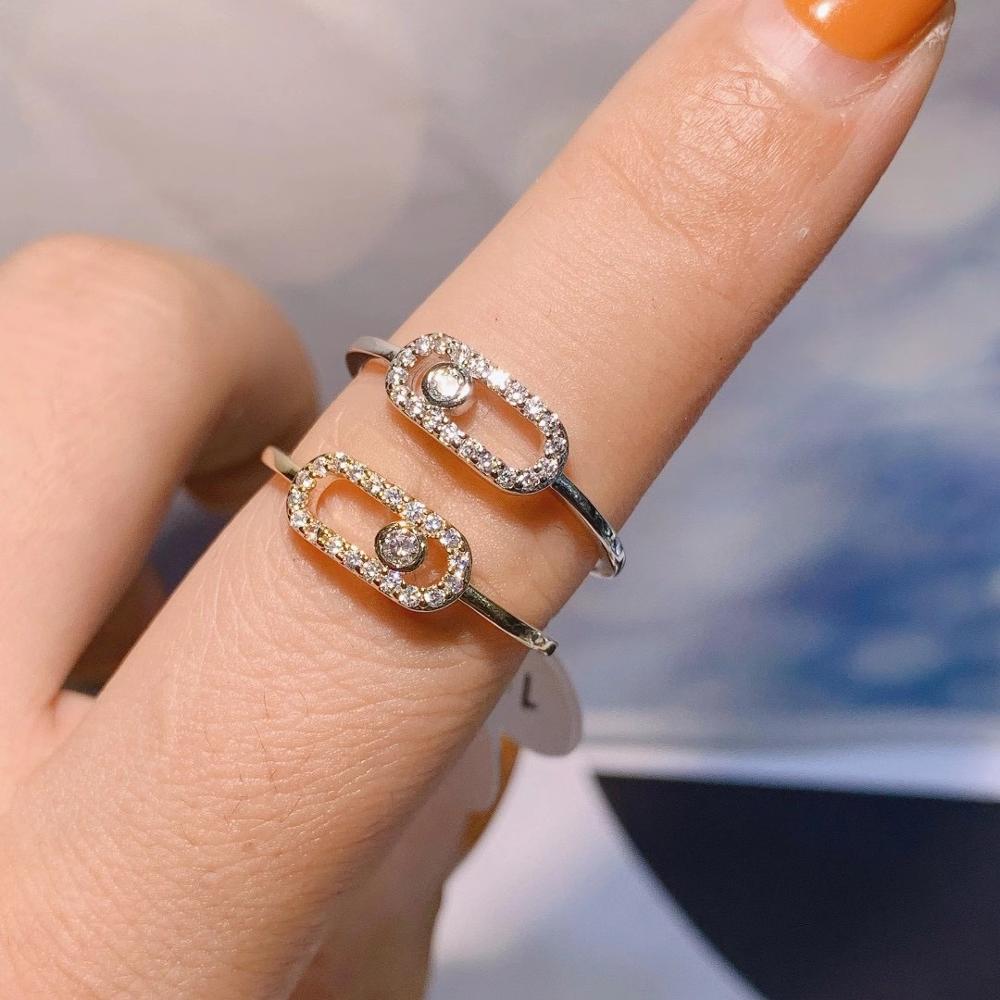 Luxury Elegant Brazil Initial Stackable Rings for Women Wedding CZ Finger Rings Beads Charm Ring Bohemian Beach Jewelry  J1918 1