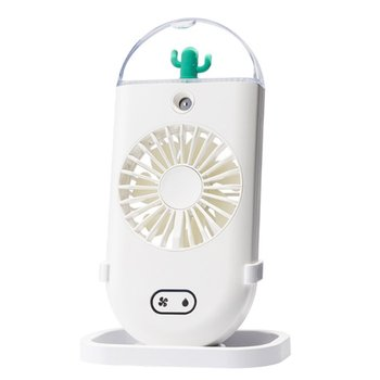 Handheld Misting Fan Mini Rechargeable Operated Portable Personal with Spray Bottle Water