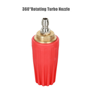 Image 5 - Auto Turbo Nozzle for Pressure washer water gun Outlet Fitting 360 degree Rotary 1/4  Quick Connect 5000 PSI ca accessories