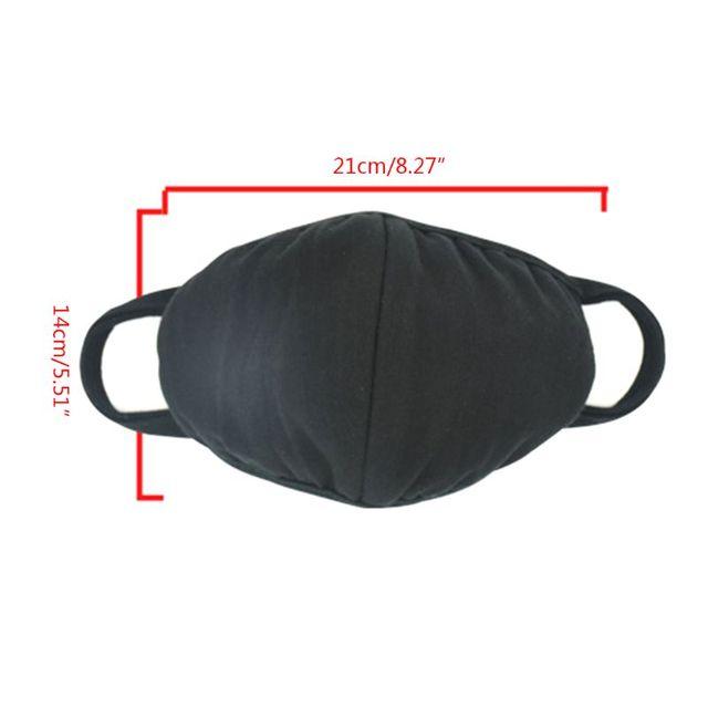 10Pcs Cotton Mouth Mask Anti Dust Pollution Washable PM2.5 Face Mask Reusable M89F 5