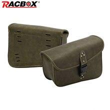 лучшая цена A Piece Universal Motorcycle Retro PU Leather Left side Saddle Bag Brown Travel Luggage Tool Bag For Sportster XL 883 Hugger