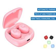 цена на XG12 TWS Bluetooth 5.0 Earphones Wireless Mini In-ear HIFI Headset With Microphone Waterproof Earphone