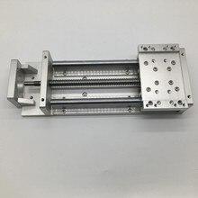 CNC Heavy Load Electric Precision Milling Sliding Table Slide Linear Stage SFU1605 C7 Ball Screw SBR Guide 200MM Stroke Platform