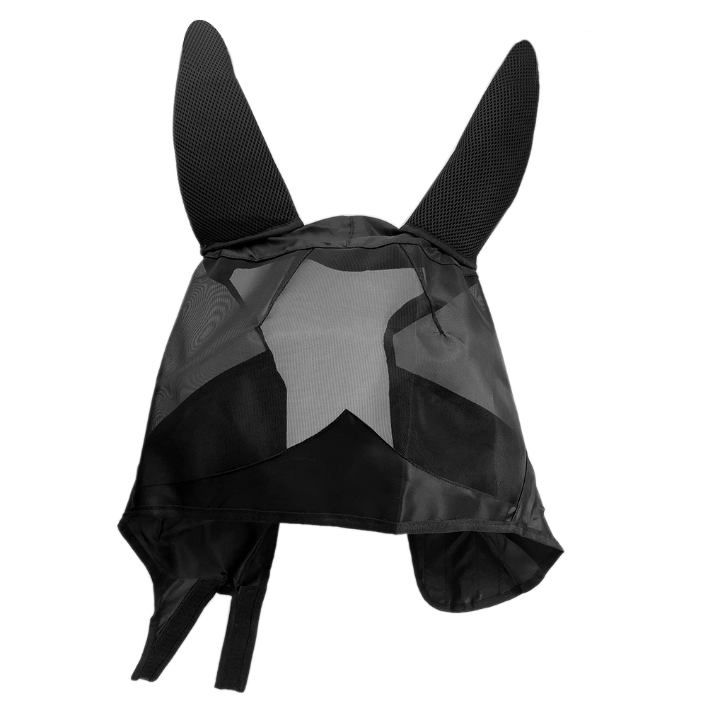 Pet Supplies Anti Mosquito Accessories Armour Horse Ear Cover Durable UV Fly Mask Shield Mesh Protect Summer Practical