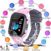 New Kids Smart watch LBS Smartwatches Baby Watch Children SOS Call Location Finder Locator Tracker Anti Lost Monitor Kids Gift