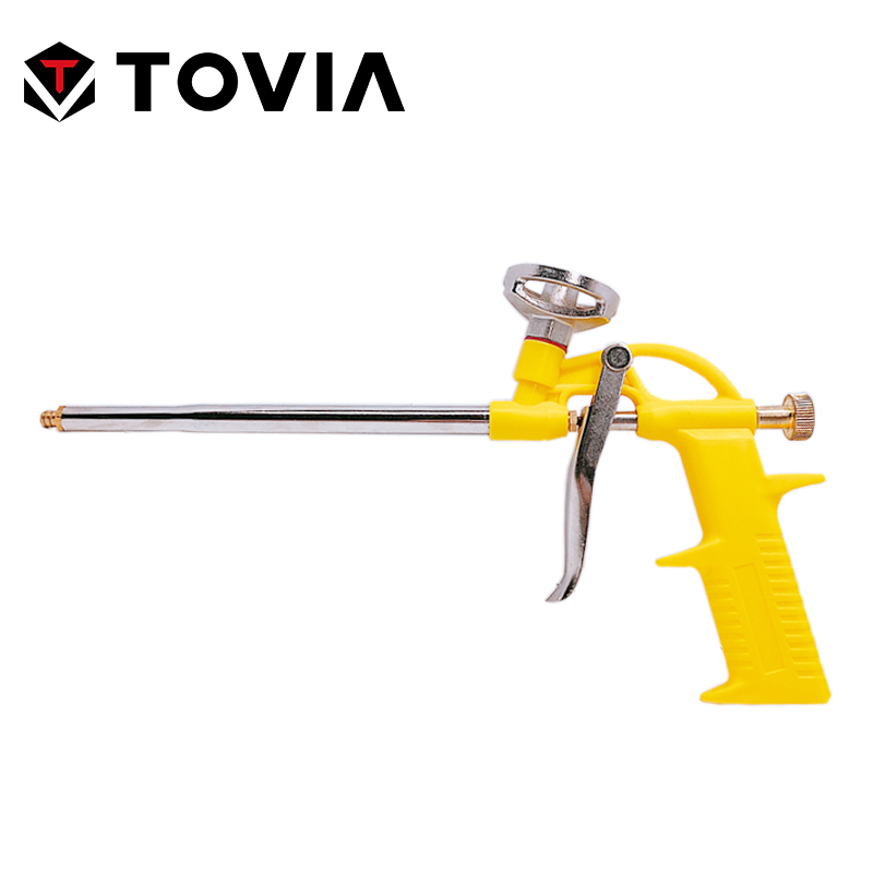 TOVIA Foam Expanding Spray Gun Sealant Dispensing PU Insulating Applicator Tool Spray Foam Gun Caulking Gun Construction Tool