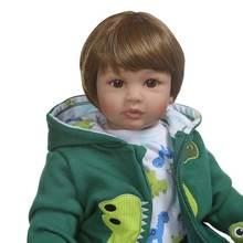 60 см 24 дюйма Реалистичная кукла реборн Мягкая силиконовая