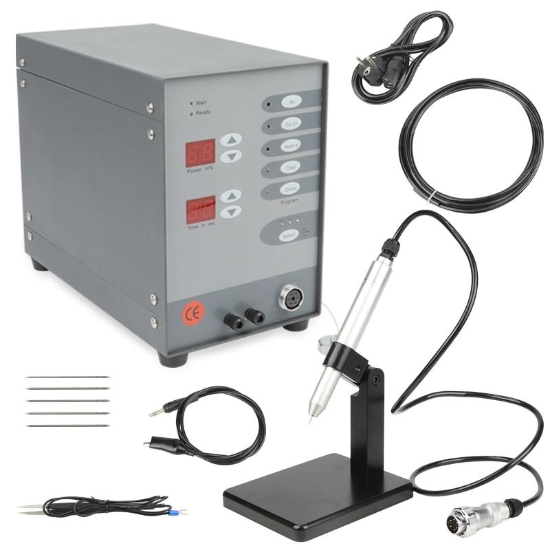 Máquina de soldadura por puntos dentales con gasreductor automático Control numérico Touch Pulse Argon arco soldador para soldadura de herramientas de joyería