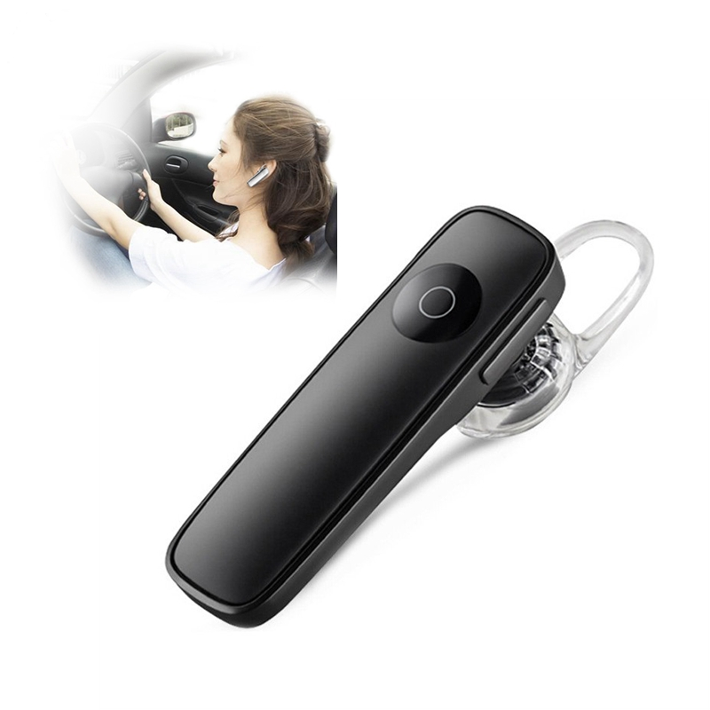 Car Bluetooth Handsfree Earphone Earbuds Hook Sport Business Wireless Earphones Sweatproof Noise Reduction Built-in Mic