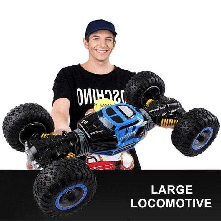2,4 ГГц RC автомобили Monster Truck 1:16 Bigfoot двухстороннее Вождение дистанционное управление деформация транспортные средства Радиоуправляемый автомобиль верхний уровень игрушки|Машинки на радиоуправлении|   | АлиЭкспресс