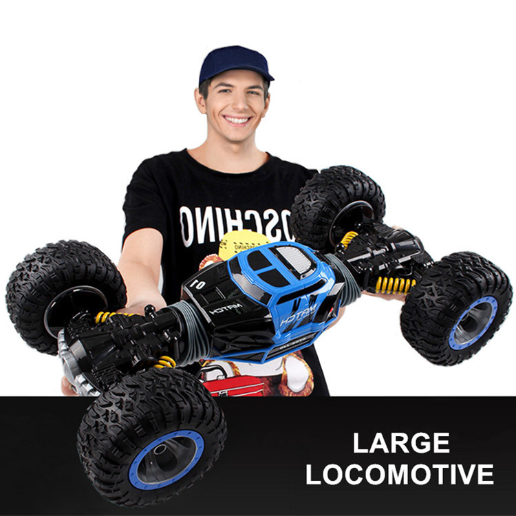 2 4ghz Rc Cars Monster Truck 1 16 Bigfoot Double Sided Driving Remote Control Deformation Vehicles Rc Vehicle Top Level Toys Rc Cars Aliexpress