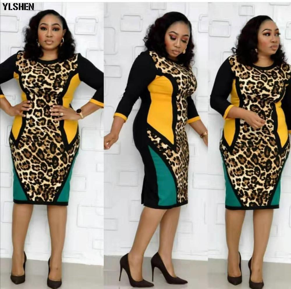 2019 New African Dresses For Women Dashiki Print Patchwork African Clothes Fashion Robe Africaine Basin Riche Africa Clothing