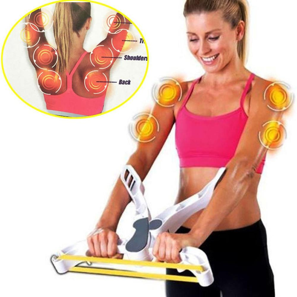 Easy Arm Toner (resistance Bands Included) Muscle Exerciser Slimming Body Calorie Burning Weight Loss Device