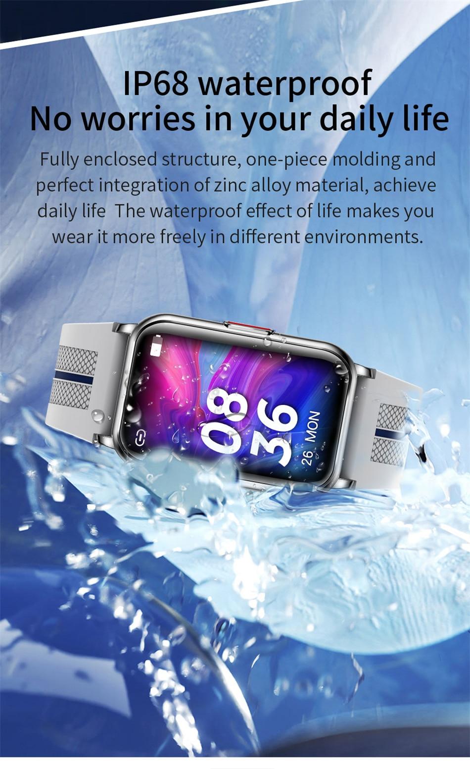 H27ca6a8d1c3e40a5806704eb936a9904p New Smart Band Watch Fitness Tracker Bracelet Waterproof Smartwatch Heart Rate Monitor Blood Oxygen LED Screen For Huawei Xiaomi