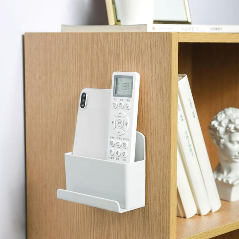 Wall Mounted Organizer Storage Boxes Remote Control Air Conditioner Stand Holder For Families Hotels Classrooms Offices