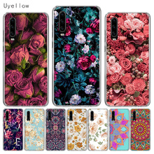 Uyellow Silicone Phone Case For Huawei P10 P20 P30 Lite Pro Hawei Mate 10 20 lite Hawei P Smart Plus 2018 2019 Flower Soft Cover doff adrian cambridge english empower starter class audio cds 3