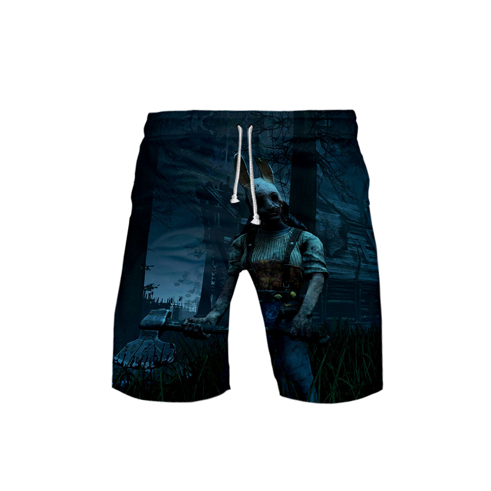 Hot Sales Dawn Murder Dead BY Daylight Related Products Casual Trend Adult Childrenswear 3D Beach Shorts