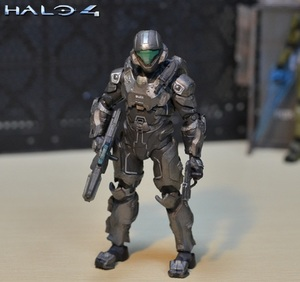 Image 3 - 6inch 15cm size Halo Sparta Master John 1/6 scale action figure doll hard PVC Cortana Chief er model collection toy