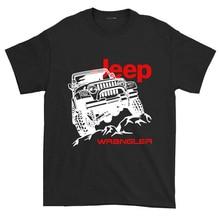 2019 Summer brand clothing Jeep T-Shirt Car Logo Mens New