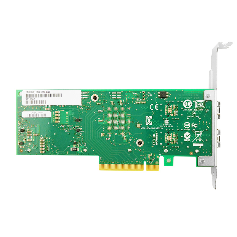 X710-DA2 Network Ethernet Converged Adapter  PCI-Express 3.0 x8 Network Card 10Gb Intel X710 SFP+ 2