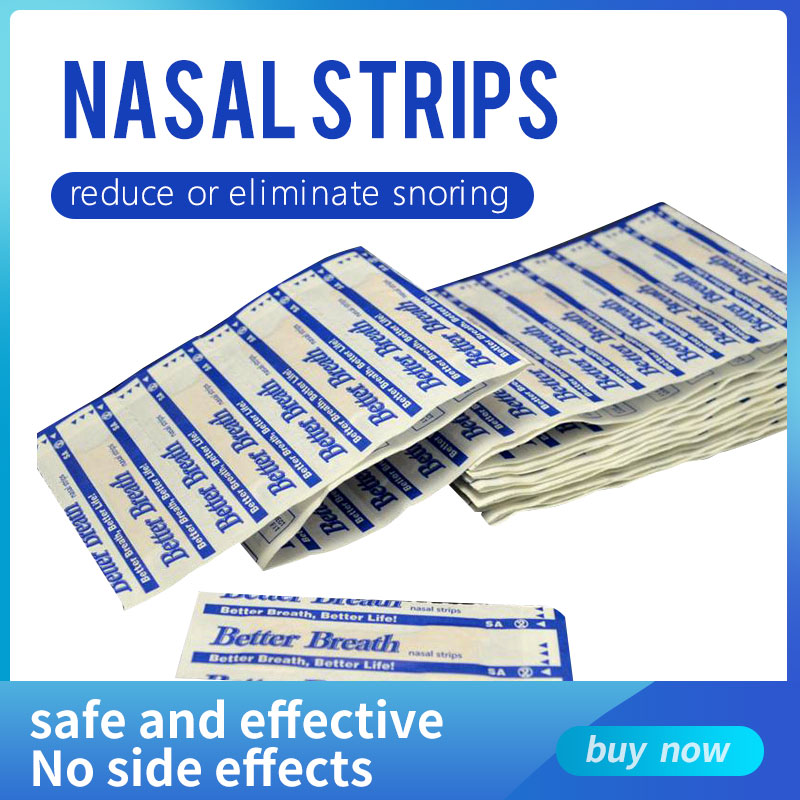 20 Pcs Better Breath Breathe Right Nasal Strips Anti Snoring Strips Sleep & Snoring Nasal Strips Sleep Better Health Care