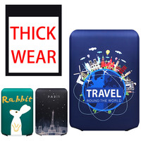 2019 New Thicker Travel Luggage Protective Cover Trunk Case Apply to 18'' 32'' Suitcase