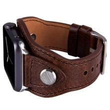 กำไลข้อมือสำหรับApple Watch 38มม.42มม.40มม.44มม.Iwatch Series 5 4 3 2 1หนังเครื่องประดับสายรัดข้อมือสำหรับผู้หญิงผู้ชาย