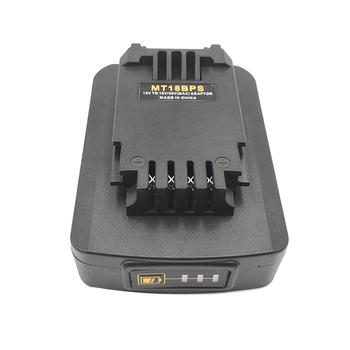 Akumulator do baterii litowej Makita 18V przekonwertowany na kabel portiera Stanley 18V 20V przetwornica do baterii tanie i dobre opinie NONE Akcesoria do baterii CN (pochodzenie)