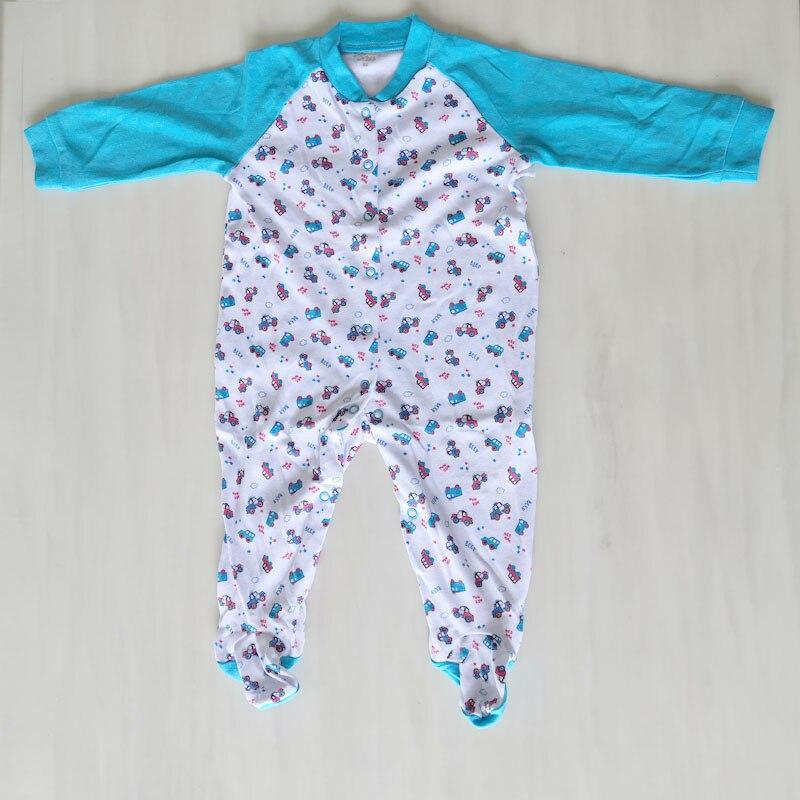 Для младенцев, детская одежда с мультипликационным рисунком футболка для мальчиков и девочек с длинным рукавом Папа Мама Детские комбинезоны Babygrow, спальные комплекты, размер ребенка ползунки 0-24Months - Цвет: NUM2