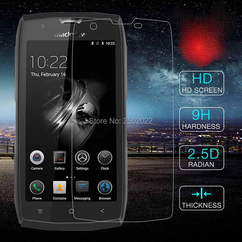 9H 2.5D Kaca Tempered untuk Blackview BV7000 Pro Screen Protector Pada Blackview BV 7000 Pro BV7000Pro Film Glas cover Case