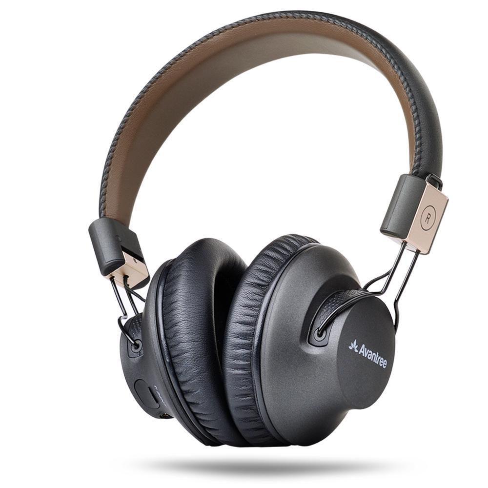 Avantree Drahtlose Bluetooth Über Ohr Kopfhörer Mit Mic, NIEDRIGE LATENZ Schnelle Audio AptX Headset Für Gaming TV PC