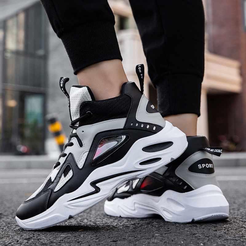 新メンズクッションライトバスケットボールスニーカーハイトップジョーダンバスケットボールシューズアンチスキッド通気性アウトドアスポーツジョーダン靴