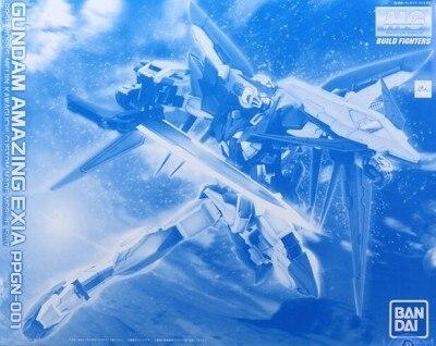 Japaness BANDAI Оригинал Gundam MG 1/100 модель PPGN 001 Amazing Exia GUNDAM строительный мобильный костюм детские игрушки с держателем